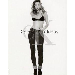 🆕Vintage 1997s Calvin Klein Black Bandeau Bra
